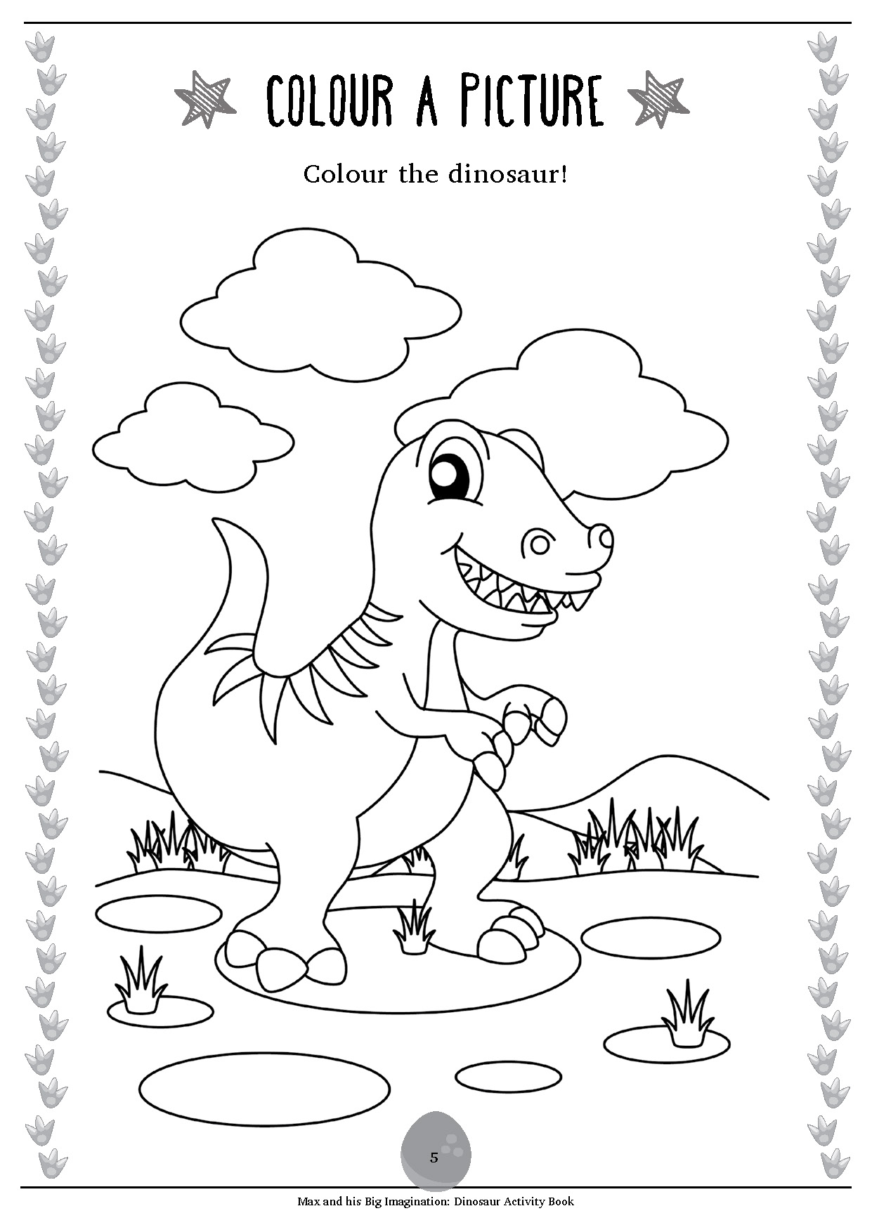 Max Free Activity Worksheet: Dinosaur Activity Book Sample ...